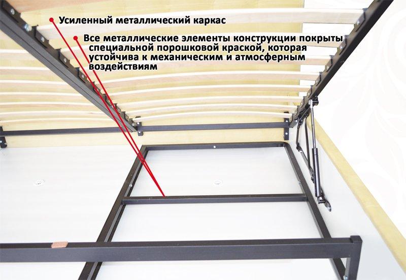 Кровать Novelty QUADRO / КВАДРО 13